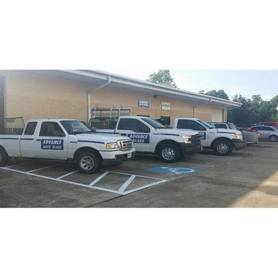 Advanced Autoglass Fleet Vehicles Ready for Glass Services in Houston, Texas